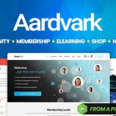 Aardvark – Community, Membership, BuddyPress Theme