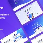 Makro – Creative HTML Template For Saas & Startup
